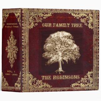 Family Tree | Antique Album 3 Ring Binder
