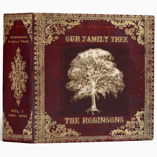 Family Tree | Antique Album Binder