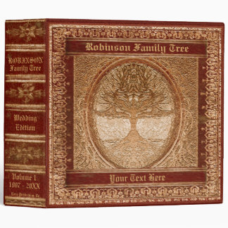 Family Tree | Antique Looking Book Binders