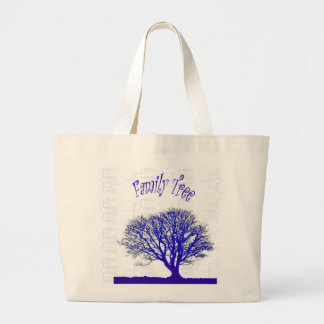 Family Tree Collection Large Tote Bag