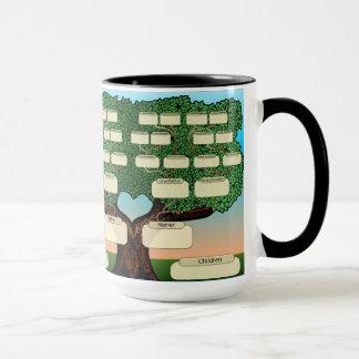 Family Tree Custom Mug Add Names By Zazz_it