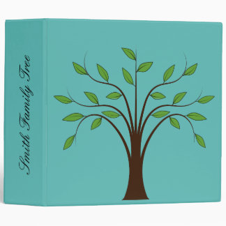 Family Tree Customisable Folder Vinyl Binders