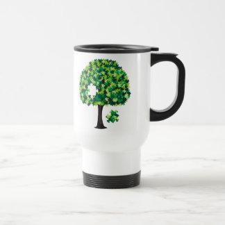 Family Tree Jigsaw Puzzle Travel Mug