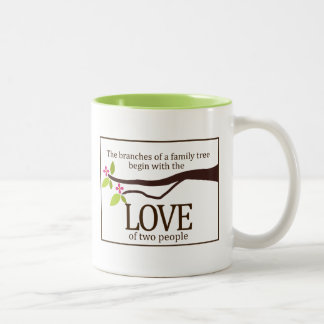 Family Tree Love Custom Mug