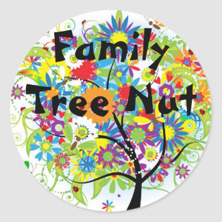 Family Tree Nut Sticker