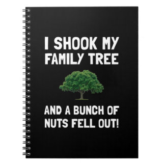 Family Tree Nuts Notebook