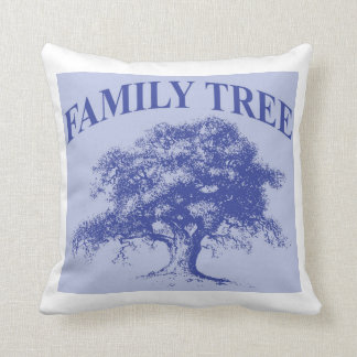 Family Tree Personalized Family Reunion Keepsake Throw Pillow