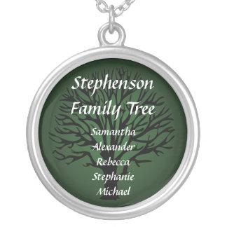 Family Tree Personalized Name Pendant