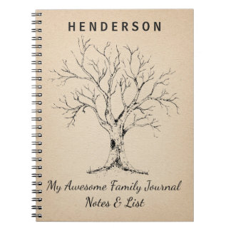 FAMILY TREE | PLANNER | FAMILY HISTORY NOTEBOOKS