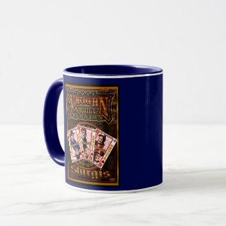 Family Vaughn Reunion Coffee Mug blue
