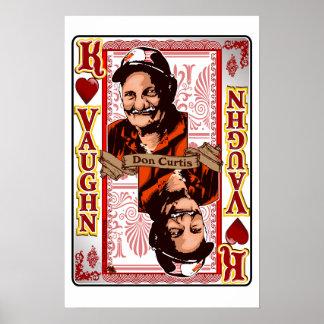 Family Vaughn Reunion Don Curtis Card print
