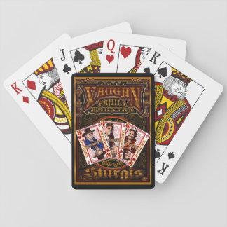 Family Vaughn Reunion Player Cards
