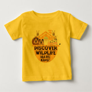 Family Wildlife Baby T-Shirt