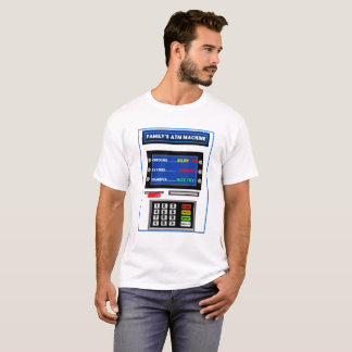 FAMILY'S ATM T SHIRT - HUMOR - MACHINE AND CARD