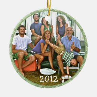 Famiy Photo Christmas Ornaments