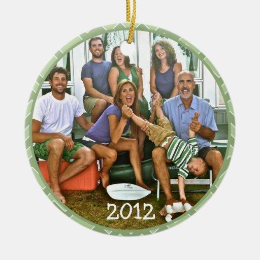 Famiy Photo Christmas Ornaments
