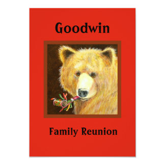Famiy Reunion Picnic Invitations