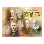 Famous 19th Century Scientists Postcard