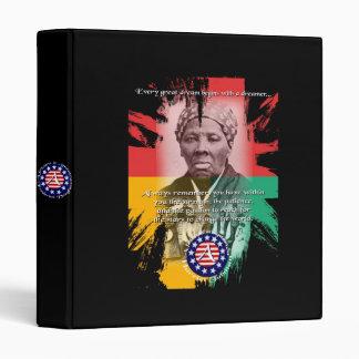 famous african americans vinyl binder