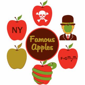 Famous Apples Standing Photo Sculpture