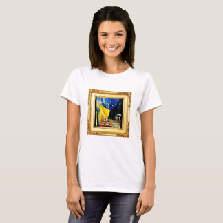 Famous Artist T-Shirts - Night Cafe