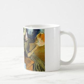 Famous Artists' Cat In Degas' Hat Shop Coffee Mug