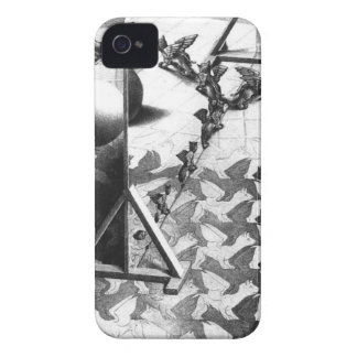 famous black & white draw iPhone 4 covers
