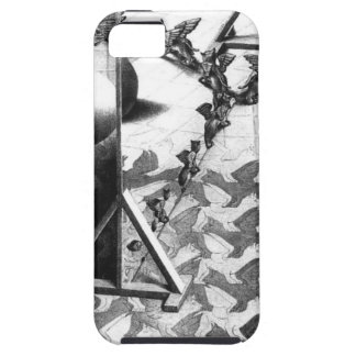 famous black & white draw iPhone 5 covers