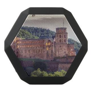 Famous castle ruins, Heidelberg, Germany Black Bluetooth Speaker