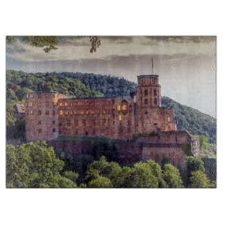 Famous castle ruins, Heidelberg, Germany Boards