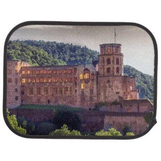 Famous castle ruins, Heidelberg, Germany Car Mat