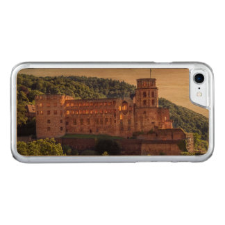 Famous castle ruins, Heidelberg, Germany Carved iPhone 8/7 Case