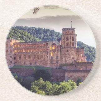 Famous castle ruins, Heidelberg, Germany Coasters