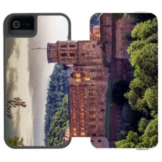 Famous castle ruins, Heidelberg, Germany Incipio Watson™ iPhone 5 Wallet Case