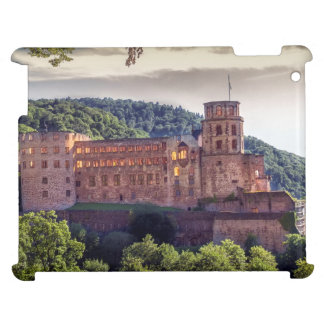 Famous castle ruins, Heidelberg, Germany iPad Case