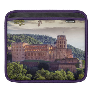 Famous castle ruins, Heidelberg, Germany iPad Sleeve