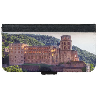 Famous castle ruins, Heidelberg, Germany iPhone 6 Wallet Case