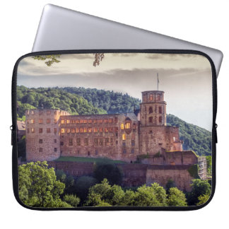 Famous castle ruins, Heidelberg, Germany Laptop Sleeve
