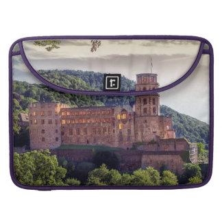 Famous castle ruins, Heidelberg, Germany MacBook Pro Sleeves