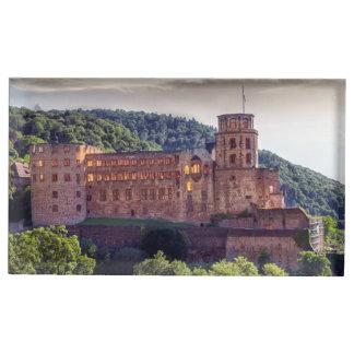 Famous castle ruins, Heidelberg, Germany Table Number Holder
