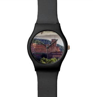 Famous castle ruins, Heidelberg, Germany Watch