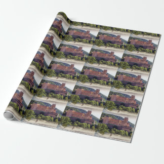 Famous castle ruins, Heidelberg, Germany Wrapping Paper