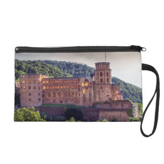 Famous castle ruins, Heidelberg, Germany Wristlet