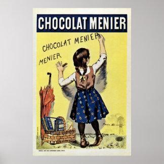 Famous Chocolat Menier vintage Poster
