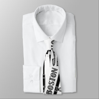 Famous Cities, Black and White Tie
