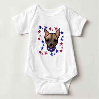 FAMOUS CLIFF 4TH OF JULY BABY BODYSUIT