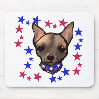 FAMOUS CLIFF 4TH OF JULY MOUSE PAD