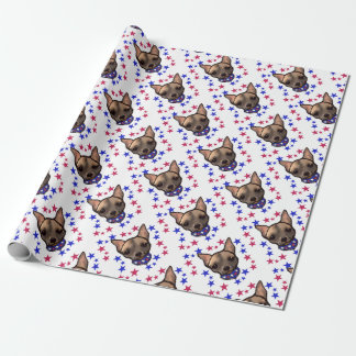 FAMOUS CLIFF 4TH OF JULY WRAPPING PAPER