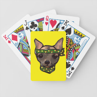 FAMOUS CLIFF BANDIT BICYCLE PLAYING CARDS
