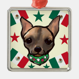 FAMOUS CLIFF CINCO DE MAYO METAL ORNAMENT